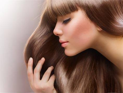 long silky beautiful hair
